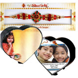 Heart Shape Photo Frame For Bro