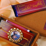 Personalised Rakhi with ethnic kit